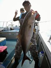 Photo: グッドサイズ! カンパチ8.4kg! よく引きました!