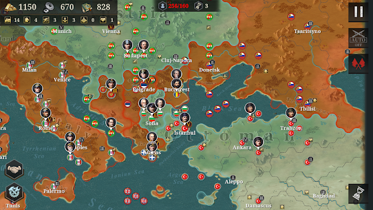 European War 6: 1914 Mod Apk Download For Android and Iphone 5