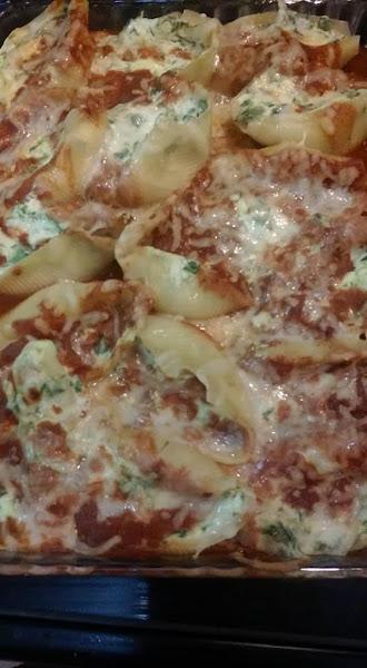 Spinach Stuffed Shells Recipe
