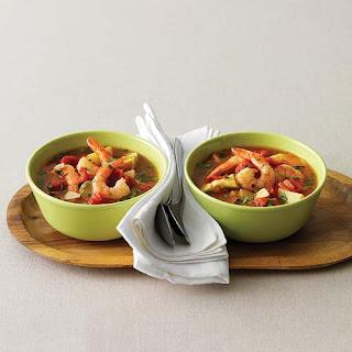 Shrimp, Artichoke & New Potato Stew for Two