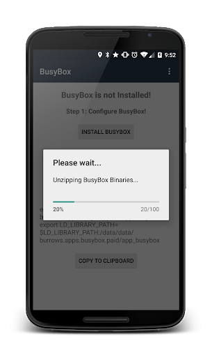 BusyBox Installer (No Root) 3.66.0.41 screenshots 2