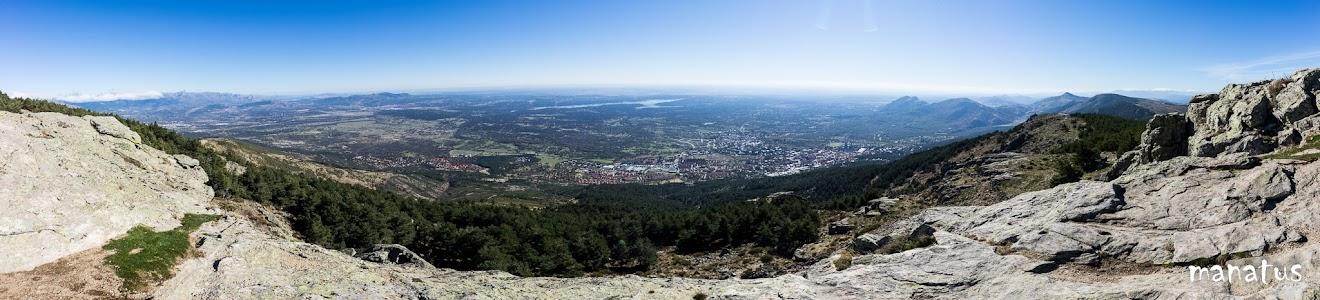 Vista desde el monte abantos