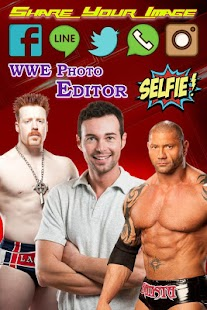 Selfie with WWE Superstars & WWE Photo Editor - náhled