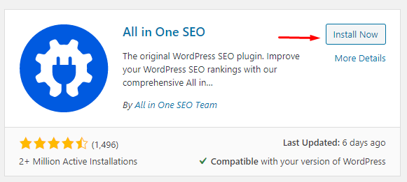 cara install plugin all in one seo pack image 2