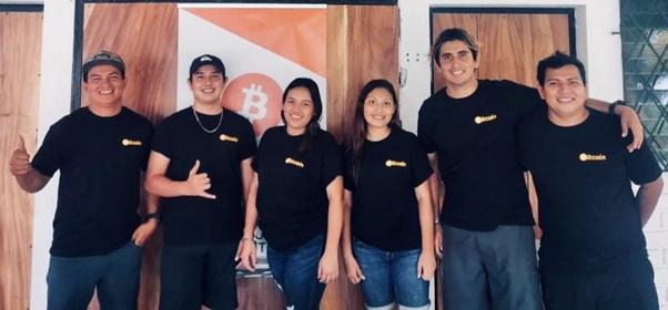 Bitcoin Beach team