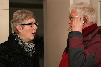 """Photo: Afscheid van Thilly Addink als ouderenpastor van de Barbara gemeente op zaterdag 15 januari 2011. - Het begint met een telefoontje uit de kerk naar de pastorie: """"Ze kan komen . . . """""""
