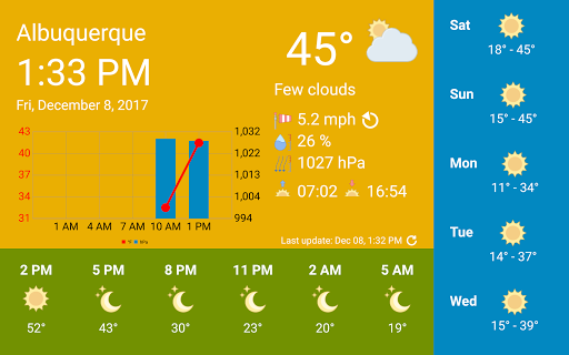 WhatWeather - Weather Station ad-free 1.3.6 screenshots 1