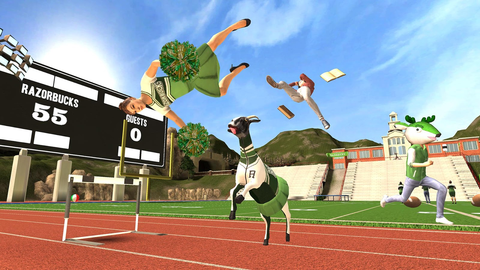 Goat Simulator- screenshot