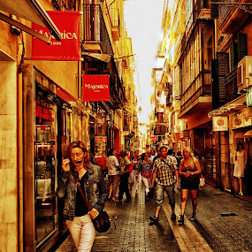 Just another day by Orkidea W. - People Street & Candids ( #mallorca #orkidea #people #photography #street )