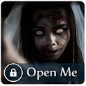 Fright who unlocks my phone icon