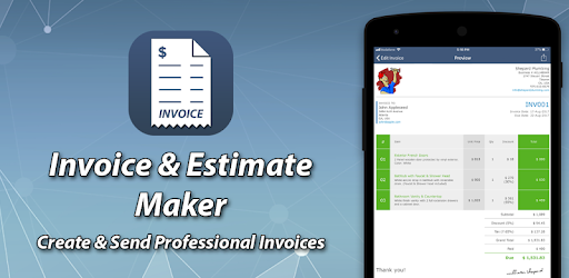 Create professional invoice and get paid faster.
