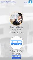 Screenshot of Learn MBA via Videos