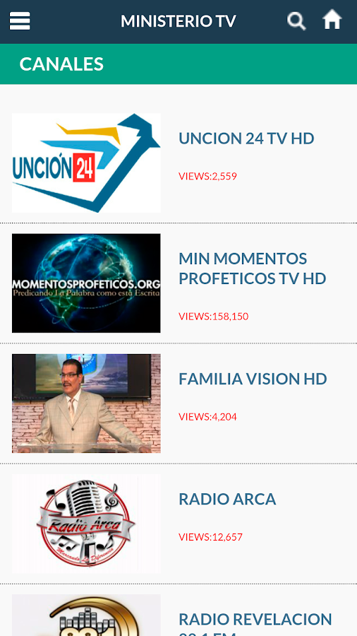 MinisterioTV.com- screenshot