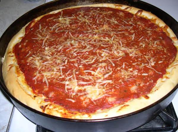 Deep Dish Pizza Chicago-style Uno's Recipe