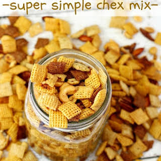 Super Simple Homemade Chex Mix.
