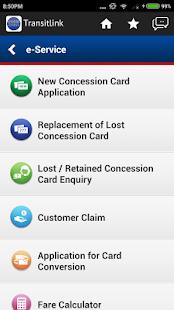 TransitLink Mobile Services - náhled