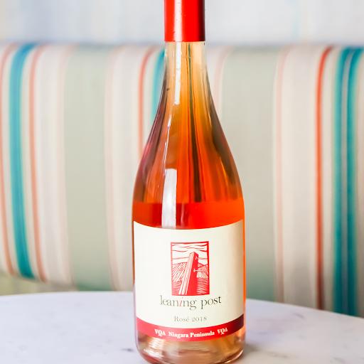 Leaning Post, Rose, Pinot Noir & Cab. Sauv. Blend Wine