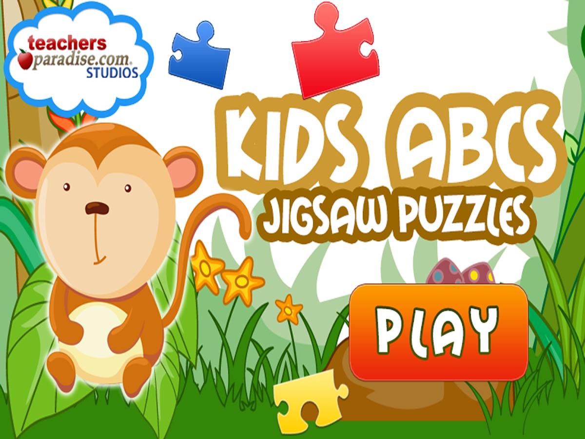 Kids ABCs Jigsaw Puzzles- screenshot