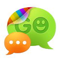 GO SMS Pro simple green theme icon