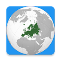 Countries of Europe icon