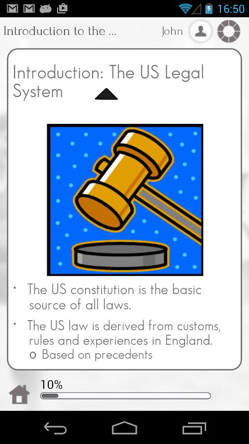 Learn US Law by GoLearningBus - screenshot