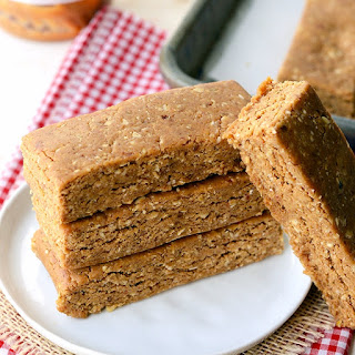 Peanut Butter Protein Oatmeal Bar Recipes.
