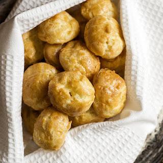 Pâte à Choux for Cheese Puffs and Cream Puffs