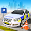 المسبق وقوف السيارات الشرطة لعبة: محاكاة سيارة 3D icon