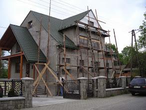 Photo: Remont plebani w Rogoźniku./2006 r. /