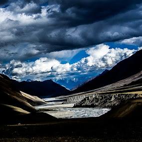 drama by Jayanta Roy - Landscapes Mountains & Hills