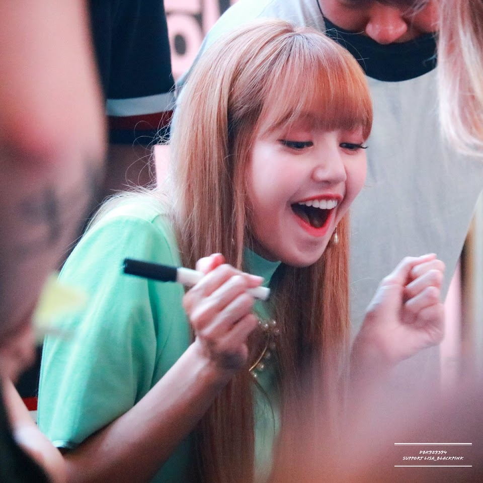 lisa happy