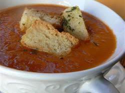 Fresh Garden Tomato Soup