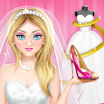 Wedding Dress Maker and Shoe Designer Games icon