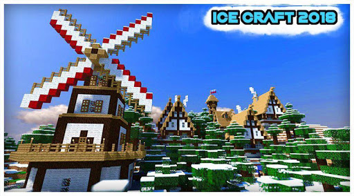 Ice craft : Winter crafting and building for PC