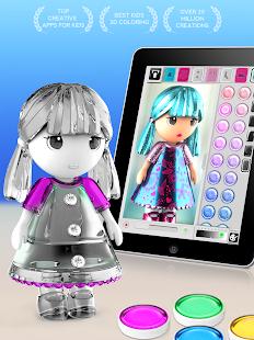 顏色的迷你兒童 Screenshot