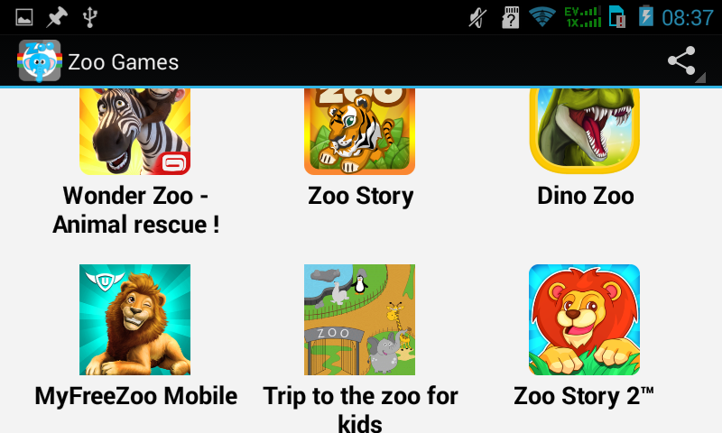 android Top Zoo Games Screenshot 4