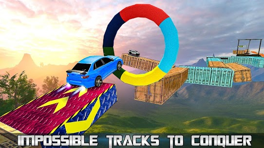 Impossible Tracks Stunt Car Racing Fun: Car Games Apk Download For Android 1