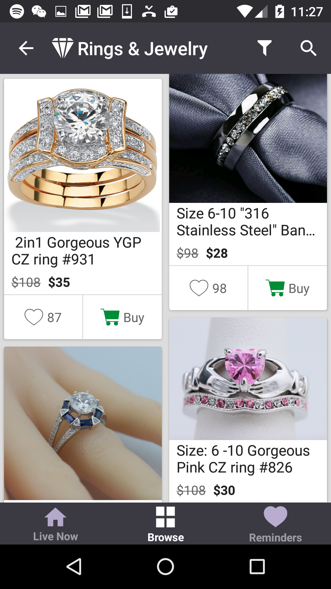 Ruby - Jewelry Shopping Deals- screenshot