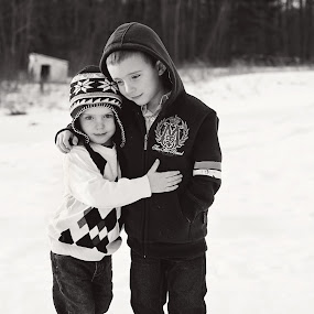 Brotherly Love by Christy Kennedy - Babies & Children Children Candids