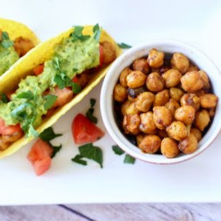 Chickpeas Tacos with Avocado Mash