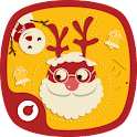 Christmas Solo theme(warm ver) icon