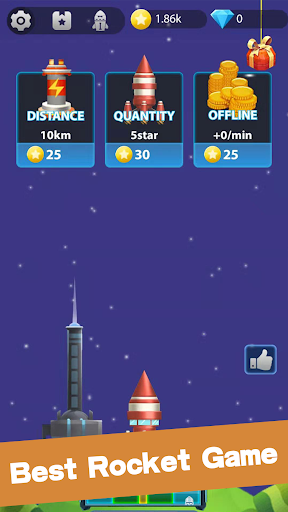 Lucky Rocket - Best Rocket Game To Reward screenshot 1