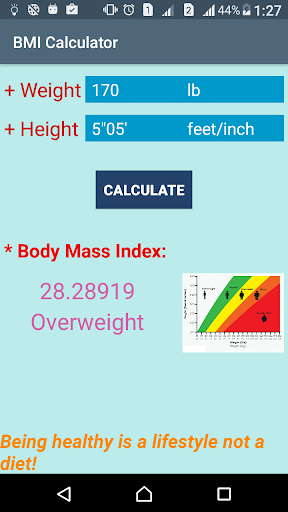 BMI Calculator Easy screenshot 1
