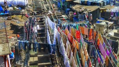 Photo: Dhobi Ghat outdoor laundry: http://en.wikipedia.org/wiki/Dhobi_Ghat