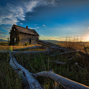 A place once called home by Mike Ritchie - Landscapes Prairies, Meadows & Fields