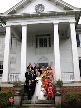 Photo: Jessie & Glenn - 8/11 - Historic Kilgore-Lewis House - Greenville, SC http://WeddingWoman.net