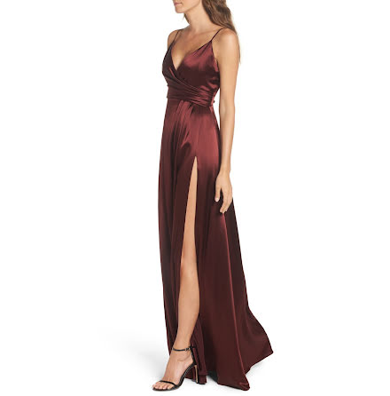 Satin Eve dress