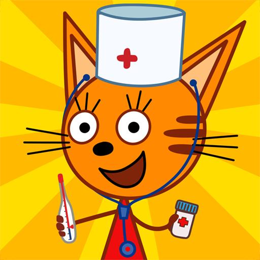 Три Кота Доктор: Ветклиника Игры Для Детей