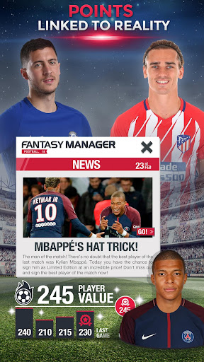 Fantasy Manager Football 2018-Top football manager 8.00.010 screenshots 3