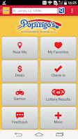 Screenshot of Popingo's Deals App